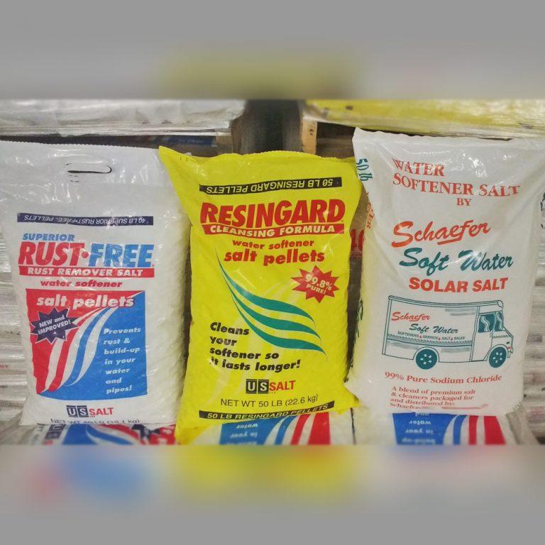 Schaefer Soft Water delivers softener salt